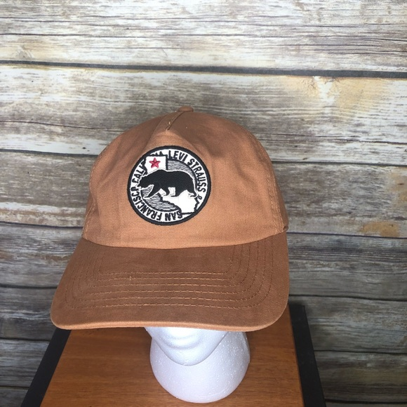 Levi's Other - Levi's California bear San Francisco dad hat patch